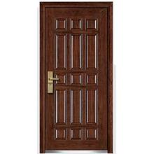 Cheap Steel Armored Wooden Door Single Leaf For Sale