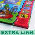 Alibaba Livre Produit Odeur de fruits Type et Couverture souple Couverture de livre sonore Enfants Livres 3D