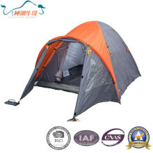 Двойных слоев на открытом воздухе палатка Кемпинг палатка на 2-4 человека