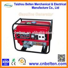 Generadores eléctricos únicos 5Kw de la gasolina 5KW Precio 13HP 188F GX390