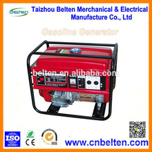 Geradores elétricos de gasolina elétricos 5Kva 5KW Preço 13HP 188F GX390