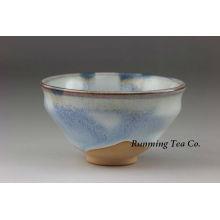 Tazón de té verde en polvo de té de porcelana de porcelana de ceremonia de té japonés hecho en China