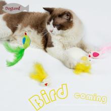 Plüsch Pet Spielzeug Katze Der Katzenminze Spielzeug Vogel Feder Pet Kätzchen 3 Farben Mix Für Heimtierbedarf Katzen
