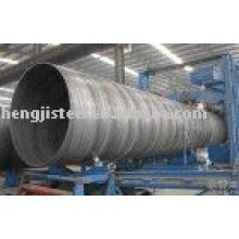 Tubo de aço espiral