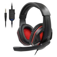 Fone de ouvido para jogos com microfone para PS4 PS5