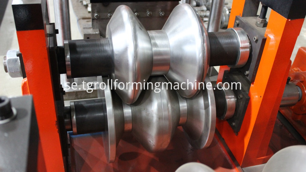 Crash Barrier Roll Forming Machine