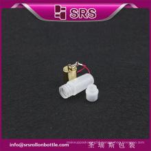SRS cheap 100% no leakage perfume roll on 3ml plastic sample bottle