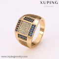 12383 - Xuping Jóias Moda 18K Banhado A Ouro Homens Anéis