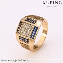 12383 - Xuping ювелирные изделия 18k позолоченные мужские кольца
