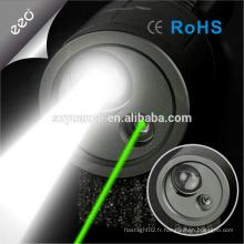 Pointeur laser laser vert Pointeur laser avec éclairage laser couleur vert extérieur