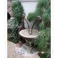 fontaine d'eau de pélican