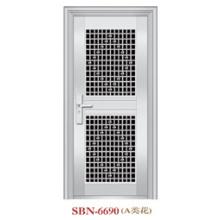 Puerta de acero inoxidable para exteriores (SBN-6690)