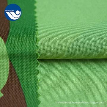 Digital Print Green And Black Mini Matt Fabric