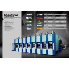 Máquina de moldagem EVA com sistema servo