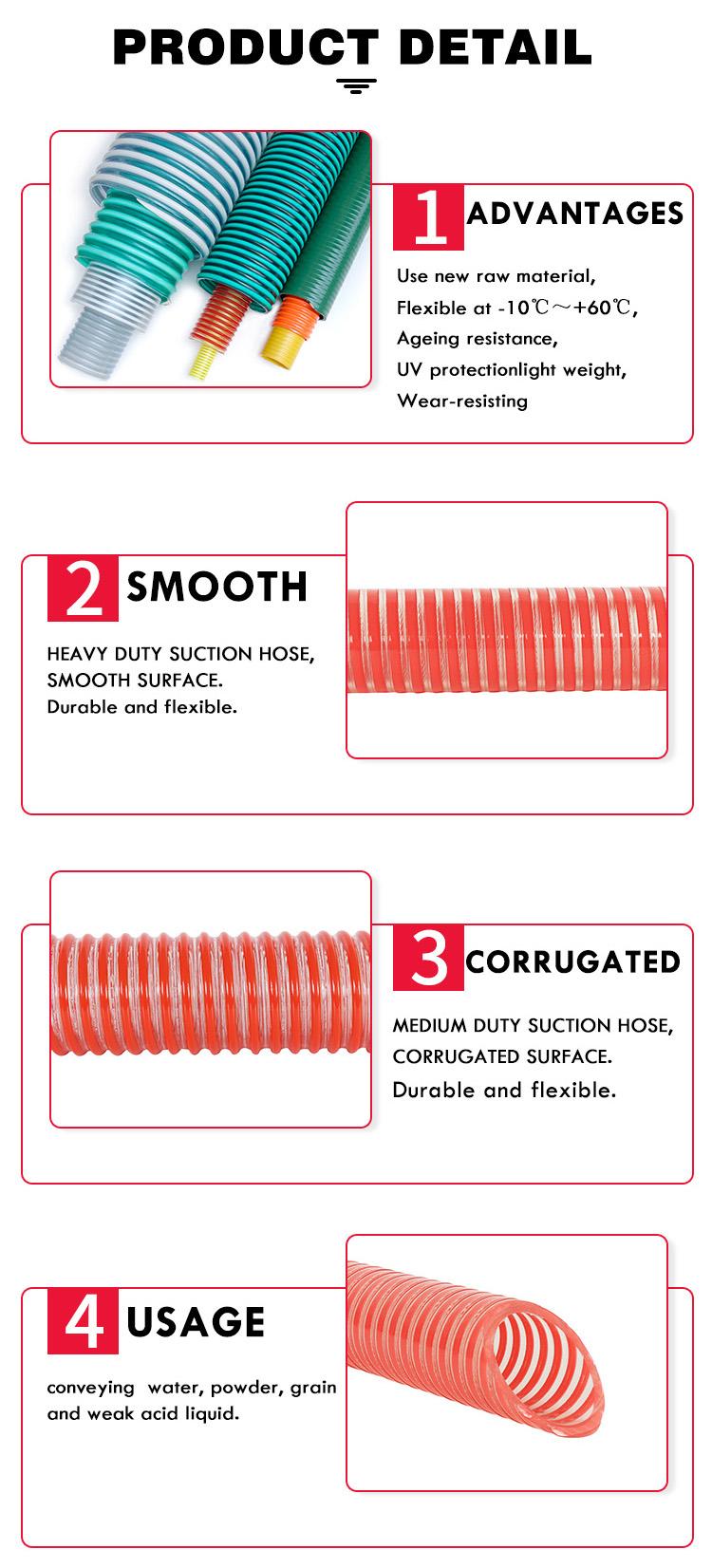 suction hose detail