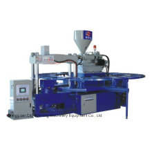 V-Form PVC-Gelee-Schuh-Einspritzungs-Maschine