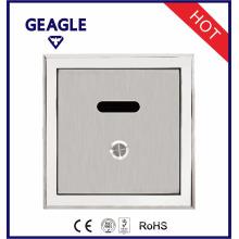 Válvula de descarga de inodoro de alta calidad aprobada CE Válvula de descarga de sensor de urinario con botón manual ZY-1067A / D / AD