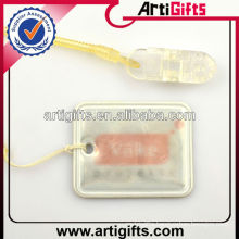 Cheap wholesale custom logo reflector keychain