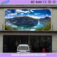 Mur d'écran visuel polychrome de LED P5 extérieur