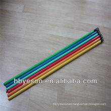 hot sale pvc coated wooden broom handle