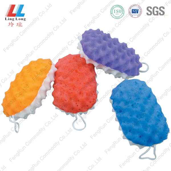 waves oval sponge