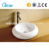Mount on counter top round new cleaning wc corner basin