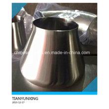Réducteur d'acier concentré sanitaire en acier inoxydable poli