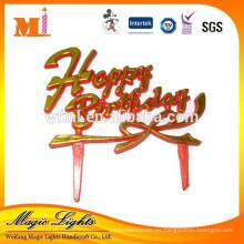 Fiesta de cumpleaños de plástico para niños Suministros de decoración de pasteles