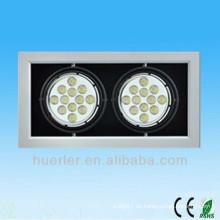 Shenzhen produzieren hohe Leistung ultra helle ce rohs genehmigt 14w 18w 20w führte Gitterlicht