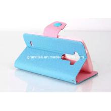 Portefeuille en cuir de PU coréen coloré 2014 pour LG G3