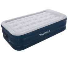 """Sungoole custom size Double High Twin 20"""" High raised Air Mattress with Built in Electric Pump Waterproof comfort Flocked Top"""