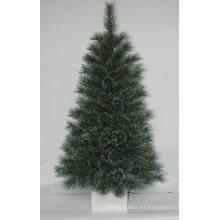 Árbol de Navidad artificial realista con luz de cadena Decoración multicolor LED (AT1081)
