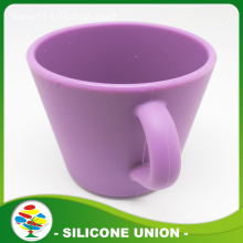 Food grade large capacity purple silicone water cup