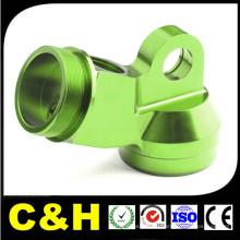 Металл высокой точности части CNC алюминия Филируя с различным цветом анодированный
