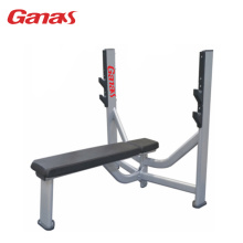 Commerciële Gym Oefening Apparatuur Olympische Flat Bench