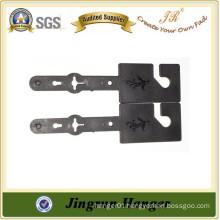 Popular Cheap Price Hanger Manufacture Black Plastic Belt Hanger