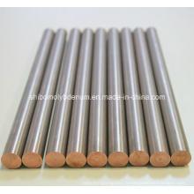 Barres polies de molybdène pour la croissance de cristal de saphir