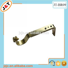 metal flat curtain rod brackets