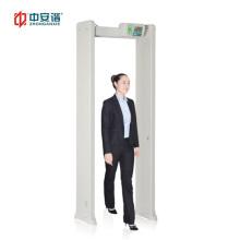 Walk Through Metal Detector Portable Door Frame Metal Detector Easy Installation