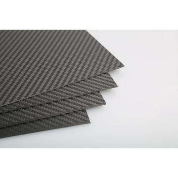 1000X1500X6.0mm 3K full carbon vezelplaat