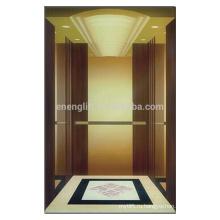 Китай оптовой пользовательских золото роскошный отель пассажирский лифт