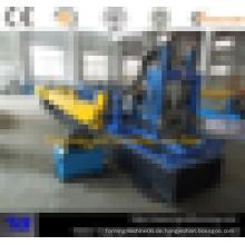 Heißer Verkauf CZ Pfette austauschbare Rollenformmaschine