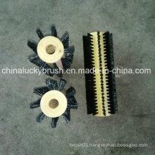 Nylon Wire Polishing Wheel Brush with Wood Hub (YY-495)