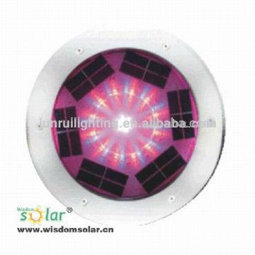 Marine Solarleuchte aus Aluminium, Aluminium u Solarlicht, LEDs wasserdicht Ziegel
