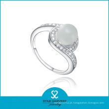 Jóia de prata do anel da mulher elegante com 2 dias Deivery (R-0446)