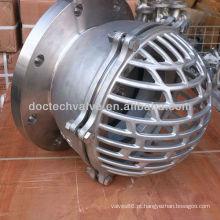 Válvula de pé de aço de carbono