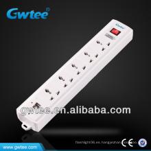 Tira múltiple universal de la energía del USB 220V