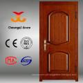 Pinte a porta de madeira de madeira blindada da madeira da segurança da entrada da categoria