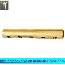 Brass 5 Ways Manifold (a. 0186)