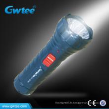 Torche à lampe à diodes électroluminescentes rechargeable
